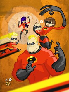 *THE INCREDIBLES, 2004