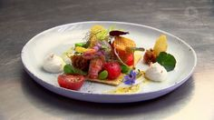 MasterChef Australia Gary's MasterClass: Tomato Tart with Yabby