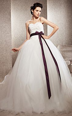 MARGARET - Vestido de Novia de Tul – USD $ 247.49