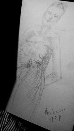 bergdorf #drawing #fashiondesign #pencil #art