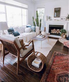my scandinavian home: Relaxed, Boho-style in Orange County, California