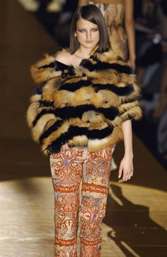 Roberto Cavalli Ready-to-Wear Fall / Winter 2002