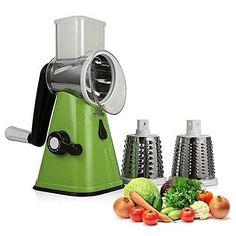 Category: Home Appliances. Product ID: Vegetable Shredder, Vegetable Slicer, Potato Slicer, Must Have Kitchen Gadgets, Shredded Potatoes, Hand Drum, Mandolin Slicer, Grater, Multifunctional