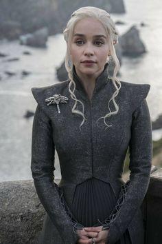 Game of thrones season 7, Daenerys Targaryen, mother of dragons, Khaleesi, Emilia Clarke #got #s7