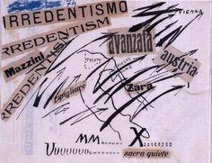 Irredentismo - 1914 - Filippo Tommaso Marinetti - Lugano, collezione privata