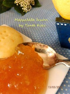 Tante Kiki: Μαρμελάδα λεμόνι Cornbread, Brunch, Fish, Meat, Breakfast, Ethnic Recipes, Blog, Recipes, Millet Bread