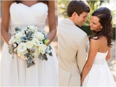 The photo on the right is such a cute idea for a pose! Anna K. Photography
