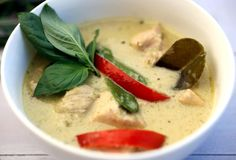 skinnymixer's Thai Green Chicken Curry