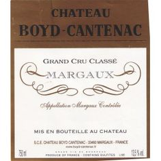 Château Boyd Cantenac 1979