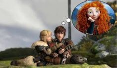 40) A: hey Hic do love me? H: yeah A: Prove it H: How A: by doing revenge for me  H: mmhmm ( I wonder wat Merida is doing with her beautiful soul?) A: Great