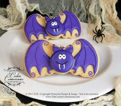 Halloween Bat Cookie...