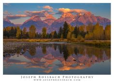 Snake River Reflections, Grand Tetons by Joseph Rossbach on 500px.