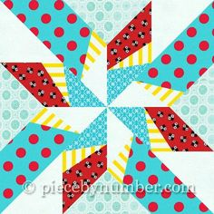 Dancing Arrows Paper Pieced Quilt Block pattern $3.00 on Craftsy at http://www.craftsy.com/pattern/quilting/other/dancing-arrows-paper-pieced-quilt-block/54776