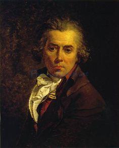 Jacques Louis David - Self Portrait, 1791
