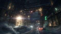 Batman: Arkham Origins Artworks & Konzeptgrafiken