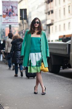 eleanora always looks great!   Carolines Mode | StockholmStreetStyle