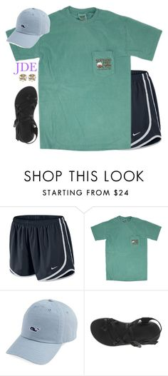 """""""jde"""" by jane-dodge ❤ liked on Polyvore featuring NIKE, Chaco and Ben-Amun"""