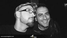 Arturo Cerrato (Saxo) y Arturo Puras (Teclados)
