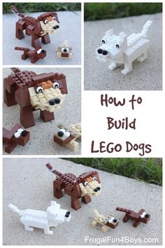 LEGO Dog Building Instructions