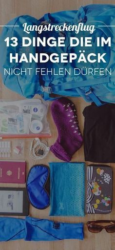 Find out what belongs to a long-haul flight in your carry-on luggage here! The post 13 things that you should definitely have in your hand luggage during long-haul flights [Sponsored Post] appeared first on Woman Casual - Travel Hand Luggage, Carry On Luggage, Travel Luggage, Suitcase Packing, Travel Packing, Travel Advice, Travel Tips, Travel Ideas, Vols Longs