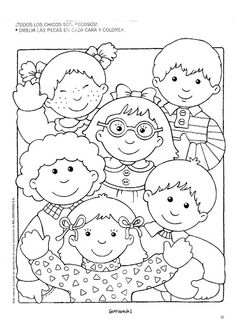 Grafimanía 1 - Betiana 1 - Picasa Web Albums Coloring Sheets, Coloring Books, Coloring Pages, Colouring, Coloring For Kids, Adult Coloring, Preschool At Home, Clip Art, Kids Rugs