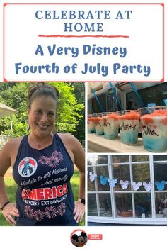 Celebrate the Fourth of July any day of the year with my fun patriotic Disney party.  Snack, outfit and decorating ideas included. Magic Kingdom Christmas, Disney Magic Kingdom, Disney Events, Disney Parties, Strawberry Daiquiri Mix, Blue Corn Chips, Malibu Coconut, Baby Tomatoes, Mickey Balloons