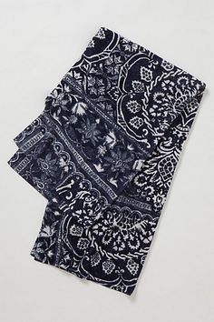 Damask Honeysuckle Towel #anthropologie - Do I have the guts to do a bathroom around these?