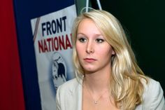 Can we get some amour pour Marion Le Pen! (Marine' niece)