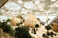 Heydar Aliyev International Airport in Baku, Azerbaijan