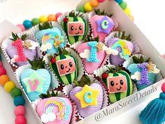 Birthday Party Treats, 1st Birthday Party Themes, Baby Birthday, Birthday Party Decorations, Birthday Ideas, Melon Cake, Crisco Recipes, Balloon Ideas, Chocolate Strawberries