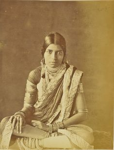 [Portrait of a Woman]; Willoughby Wallace Hooper (English, 1837 - 1912); India; about 1870; Albumen silver print; 19.5 × 15 cm (7 11/16 × 5 7/8 in.); 84.XO.823.6.24; J. Paul Getty Museum, Los Angeles, California