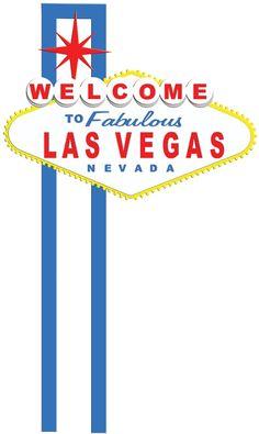 Digital Download: Las Vegas Sign Border Laser Die Cut