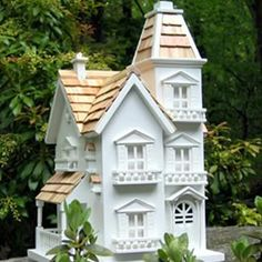 Found it at Wayfair - Classic Series Victorian Manor Bird House Victorian Manor, Victorian Design, Victorian Houses, Best Bird Feeders, Cedar Roof, Decorative Bird Houses, Outdoor Gardens, Outdoor Living, Backyard