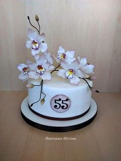 Orchid - Cake by Victoria