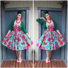 The Best Fashion Ideas For Women Over 60 - Fashion Trends Pin Up Outfits, Funky Outfits, Vintage Outfits, Rockabilly Fashion, 1950s Fashion, Vintage Fashion, Vintage Style, Over 60 Fashion, Girl Fashion