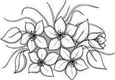 Resultado de imagen de dibujos de flores para imprimir