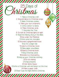 25 days of christmas free printable krafty cards etc christmas to do list merry