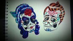 sugar skulls | Tumblr