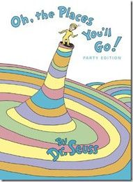 @ Nicole... Something to start with Mr. C.   A favorite Dr. Seuss book, loved by many! (I Found the idea Here:  Pinterest-I added a few more ideas to it) http://lisasworkshop.blogspot.com/2011/06/oh-places-youll-go-end-of-school-year.html Throughout the years of your childs education,  secretly give your child's teacher this book to sign at the end of each school year.  Present this gift/book to your son/daughter on Graduation Day(Senior Year) from High School!