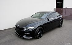 A Black Sapphire Gran Coupe With M Performance Parts With Europan Auto Source Creating The Interesting Project Toyota Harrier, Bmw 4 Series, Car Goals, Black Sapphire, Bmw M4, Bmw Cars, Performance Parts, Mercedes Amg, Luxury Cars