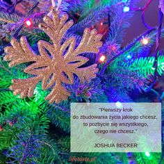 """""""The first step in crafting the life you want is to get rid of everything you don't."""" #evening #quote #joshuabecker #your #life and #rules #believe #courage #christmas #tree #lights  #smile #lifetaste #instalike #instafollow #nofilter #wieczór #cytat #twoje #życie i #zasady #wiara #odwaga #choinka #lampki #uśmiech #radośćżycia 🙂☝️👣🚮‼️💪🏆☺️👏🎄🌟💖😘"""