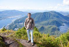 On a top of Deer Mount (Ketchikan, Alaska). 2015.09.03
