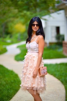 Fluttered Skirt