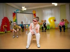Танец бизнесменов. Выпускной бал в детском саду - YouTube