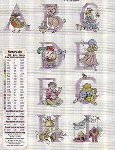 Nursery Rhymes Alphabet 1