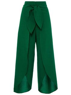 Plain Irregularity Lace-Up Loose Women's Pants High Split Palazzo Pants with Tie Front Buy Women Wide Leg Chiffon Pants for great discount with best quality. Keira Fashions is Women's online fashion store. Loose Pants, Wide Leg Pants, Wide Legs, Cropped Pants, Trousers Women, Pants For Women, Clothes For Women, Women's Trousers, Palazzo Trousers