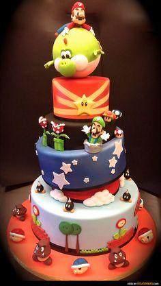 Tartas originales: Mario Bros.