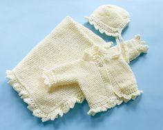 seed stitch baby blanket in aran weight yarn. free pattern on Ravelry