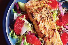 Salmon & Blood Orange Salad