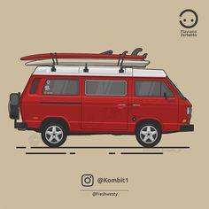 KombiT1: Volkswagen T3 Westfalia @freshwesty